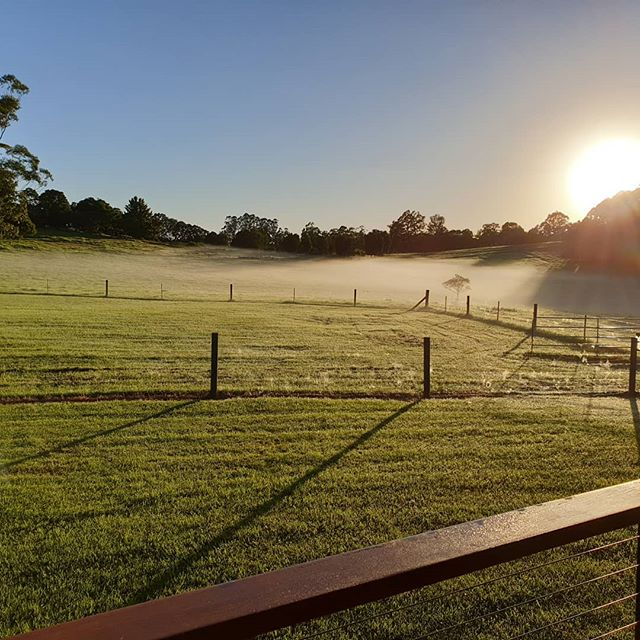 Another beautiful sunrise at lovely Curra Homestead Maleny. Is it time you experienced all that Magical Maleny has to offer? www.currahomesteadmaleny.com #maleny #sunshinecoasthinterland #sunshinecoast #holiday #queensland  #beautiful #naturephotography