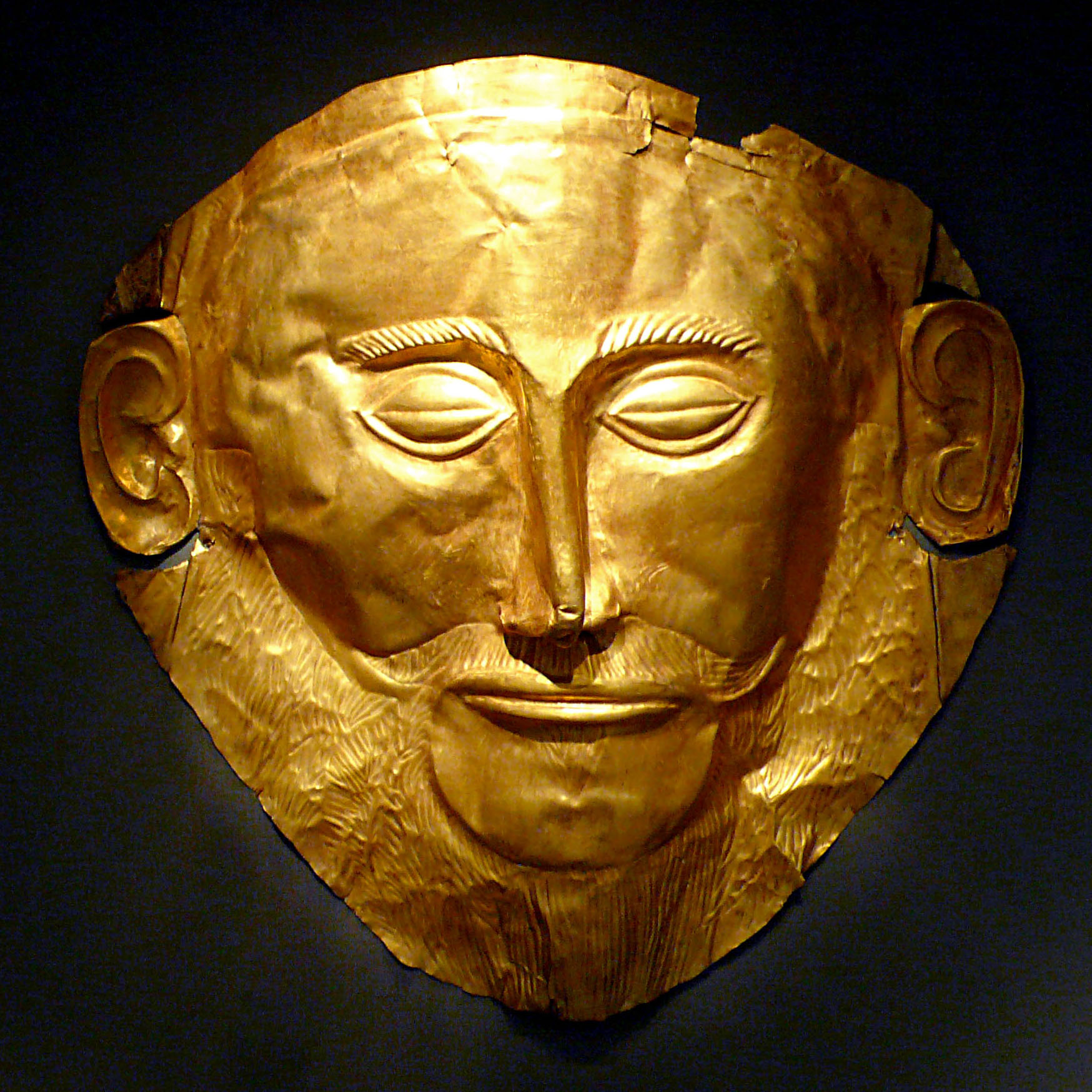 Mask of Agamemnon by Xuan Che - Self-photographed (Flickr), 20 December 2010, CC BY 2.0