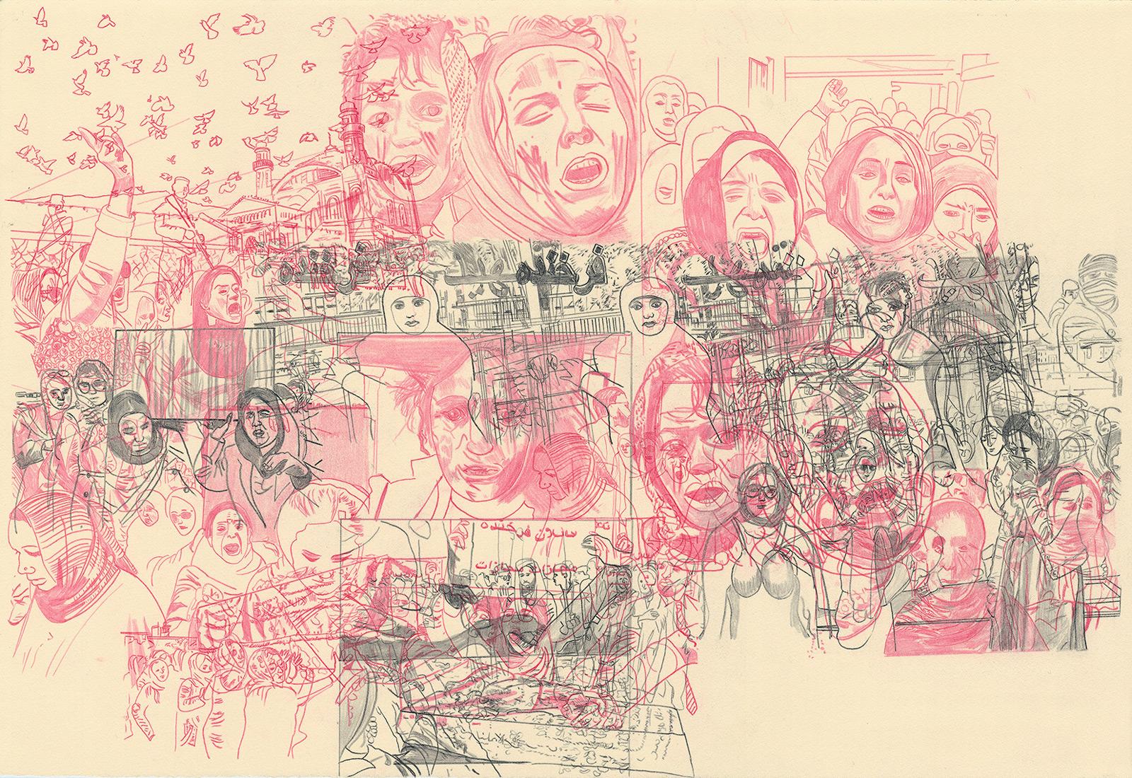Deborah-Koenker-Visual-Artist-Vancouver_Draw-the-world-Spain