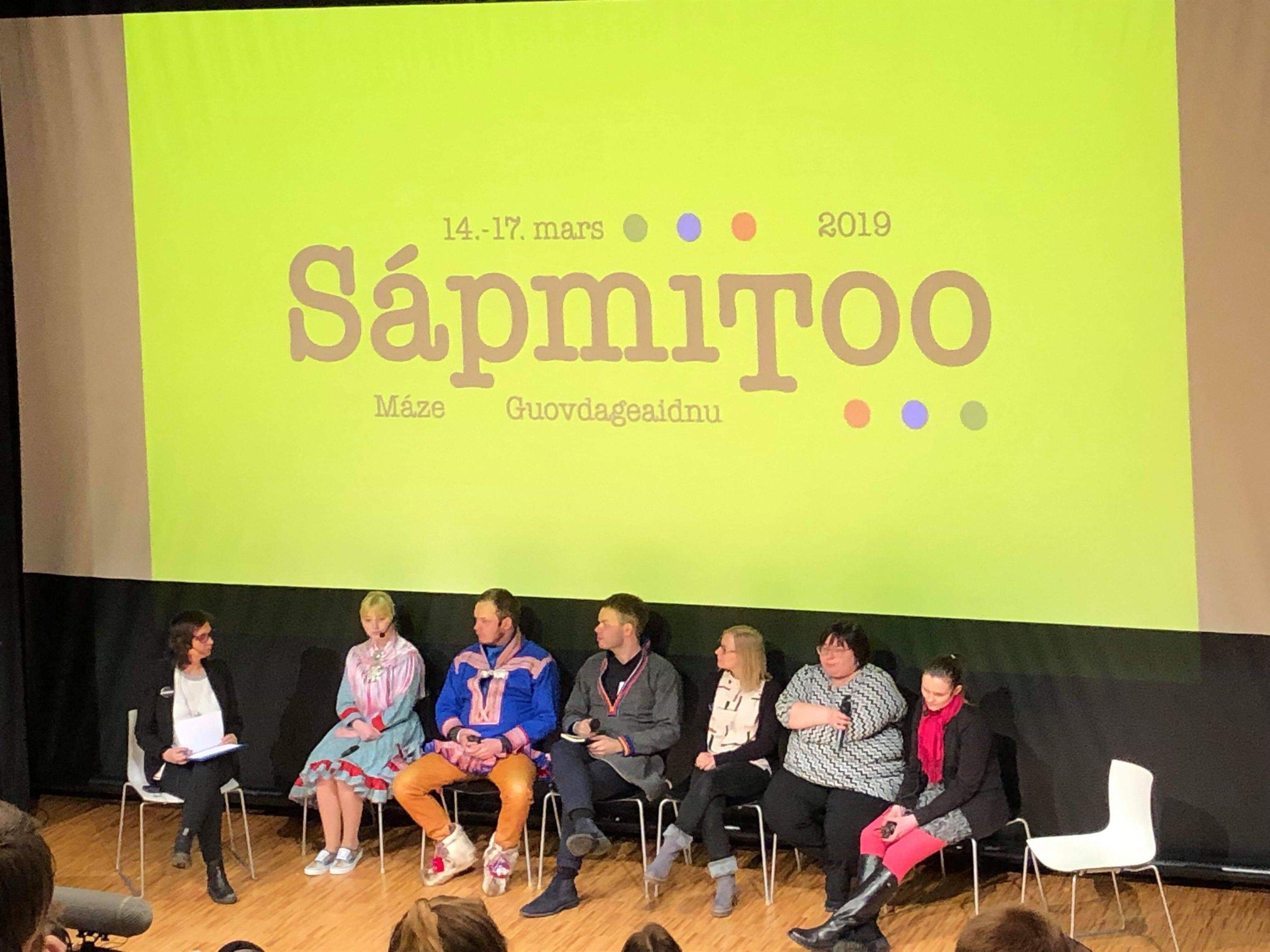 Paneldebatt i Guovdageaidnu Foto: Isak Anta Kvitfjell