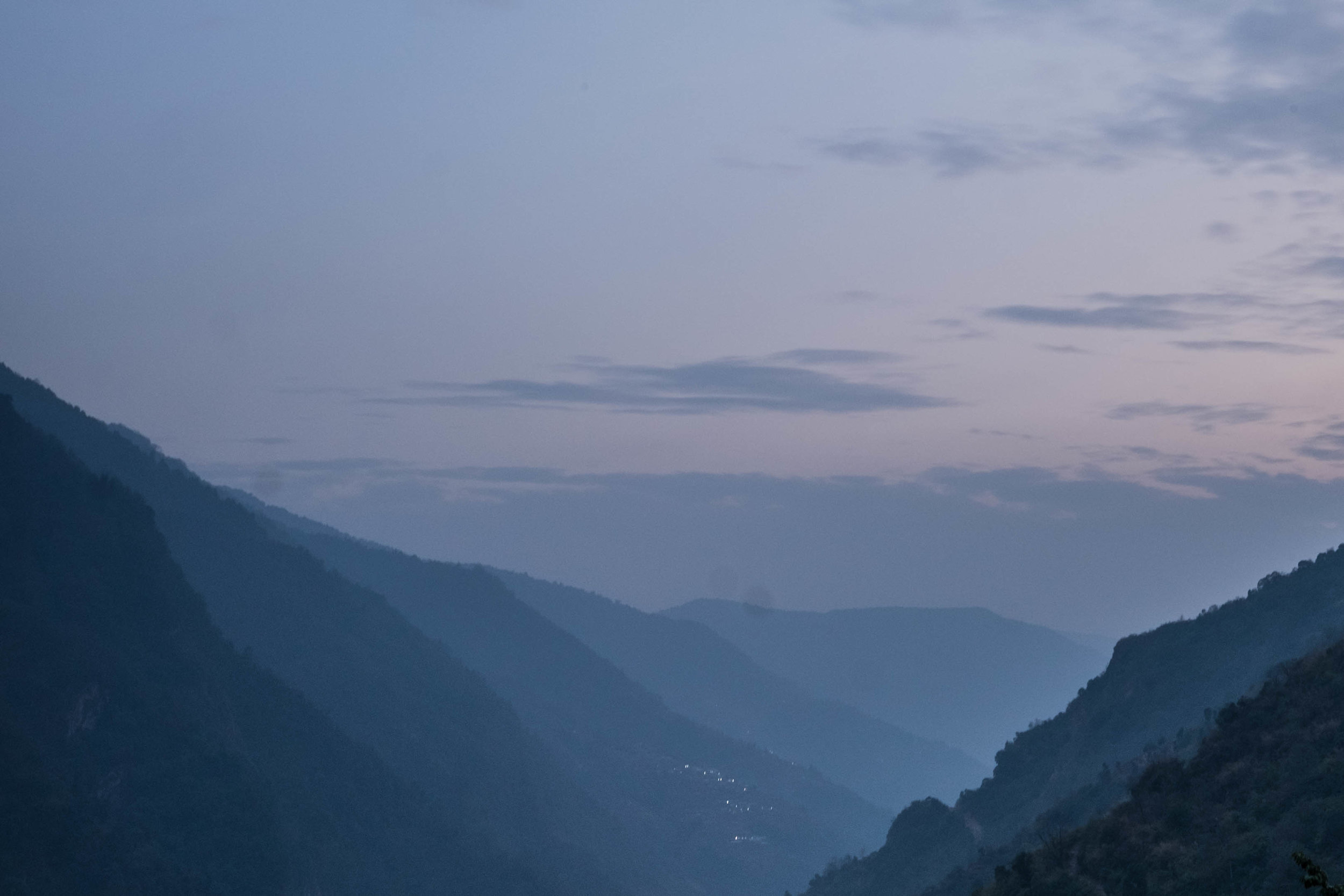 blue hour in jhinu