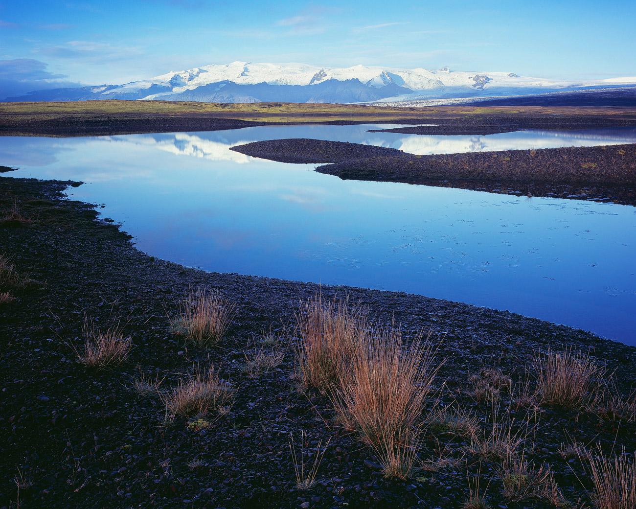"""Einer der vielen """"unaussprechlichen"""" Teilgletscher des riesigen Vatnajökull."""