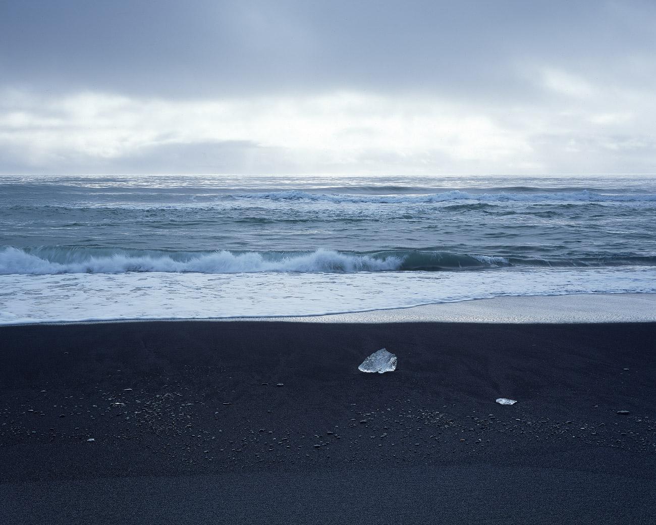 Küste am Breiðamerkursandur.