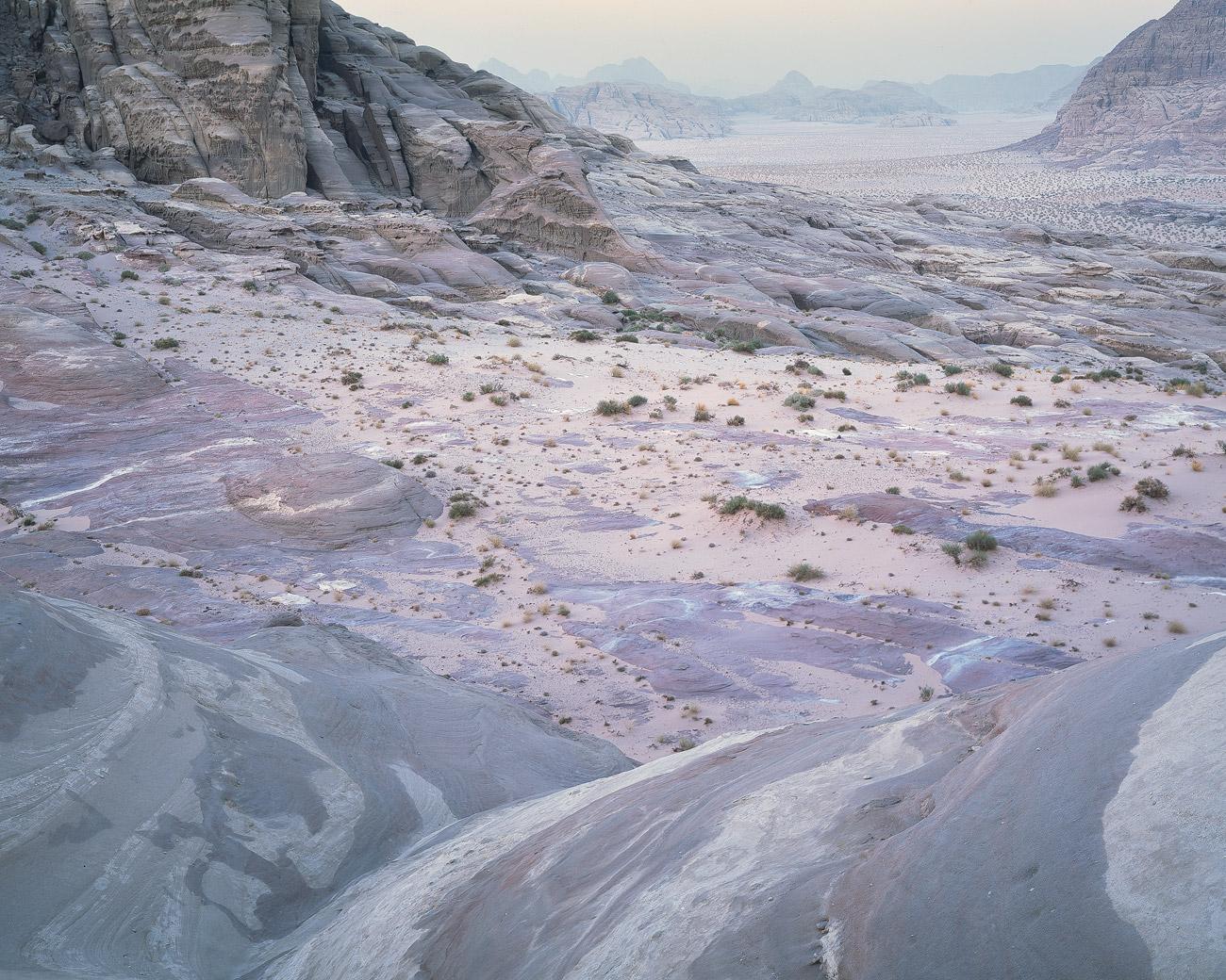 Wadi Rum, Jordanien.