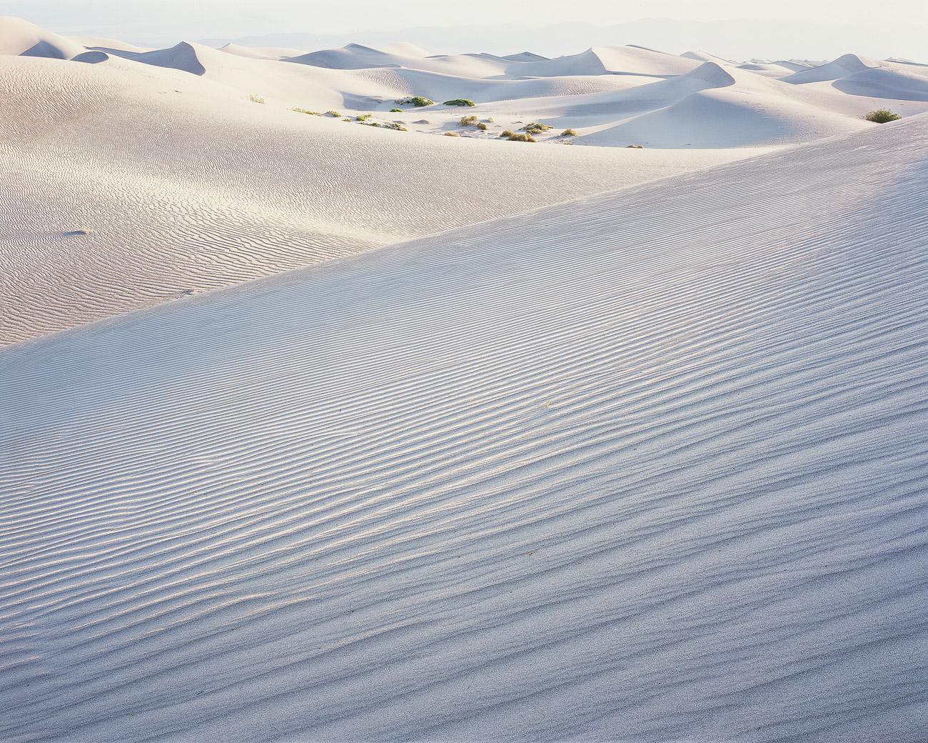Landschaft der Mesquite Sanddünen, Death Valley, Kalifornien.