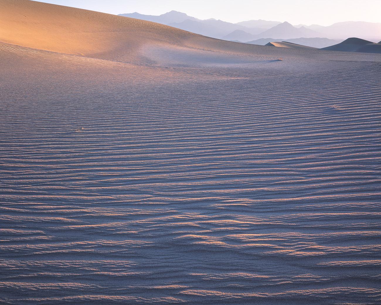 Mesquite Sanddünen, Death Valley, Kalifornien.