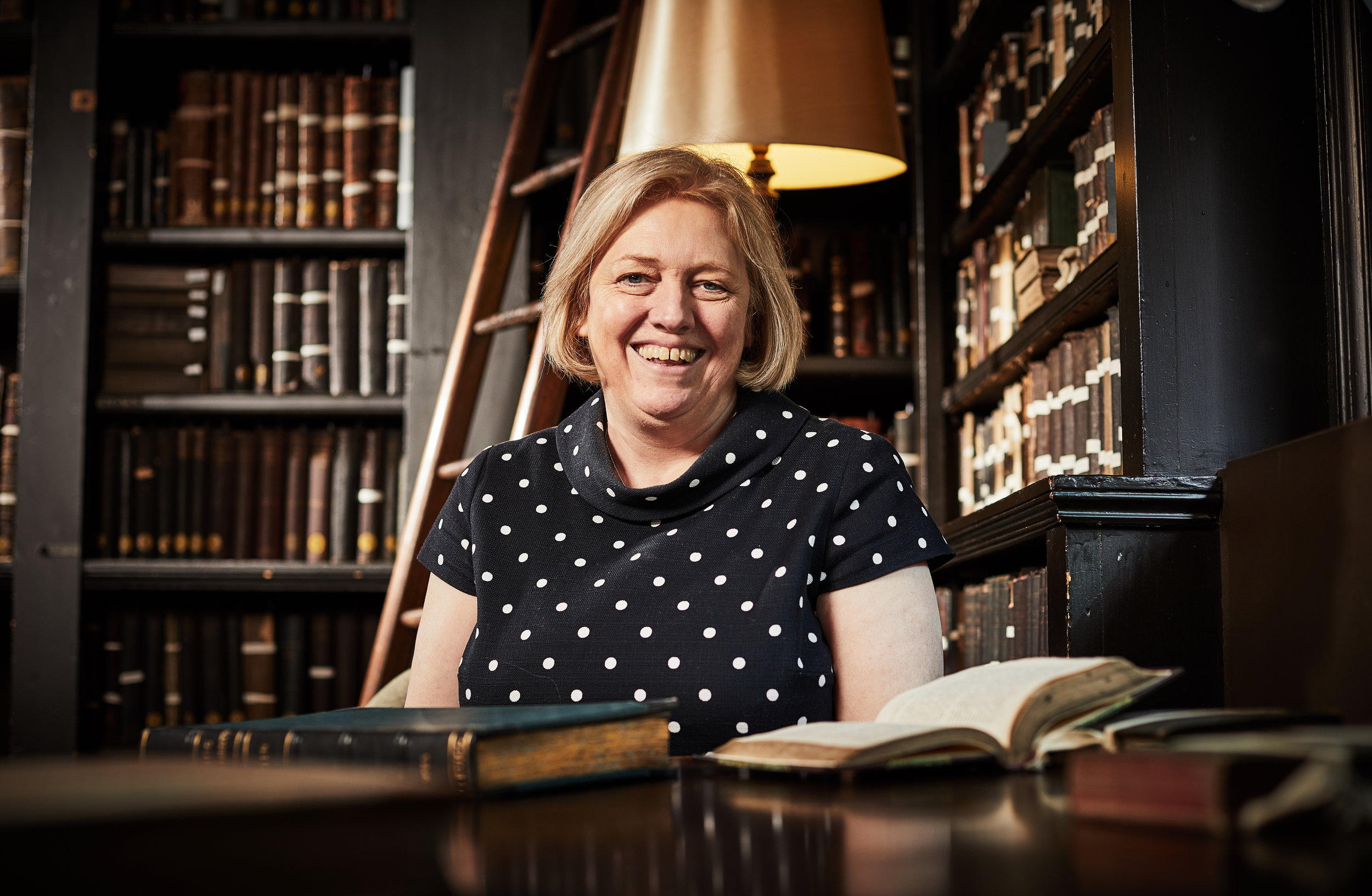 Kathryn Graham - Kathryn is a solicitor specialising in trust and charity law and works in the city centre. She fell in love with Library at first sight and finds it a peaceful haven in the midst of a busy day. She has been a trustee since 2018.