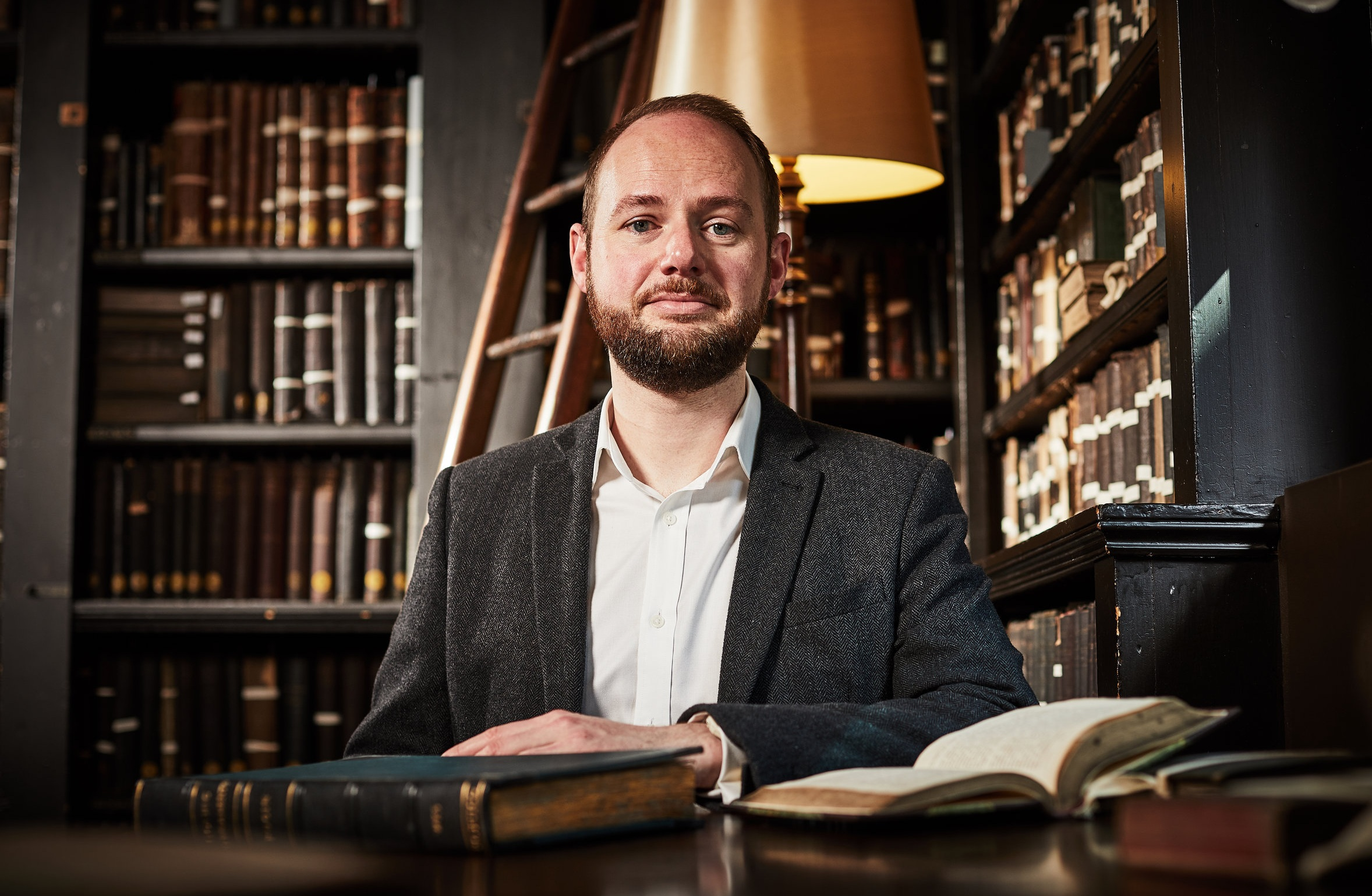 Steve Slack - Steve is a writer and heritage interpretation consultant. He lives in the city centre and initially joined The Portico as a place to work and to be inspired by the historic collection. Steve has been a Trustee since 2018 and also chairs the Library's Exhibitions Committee.