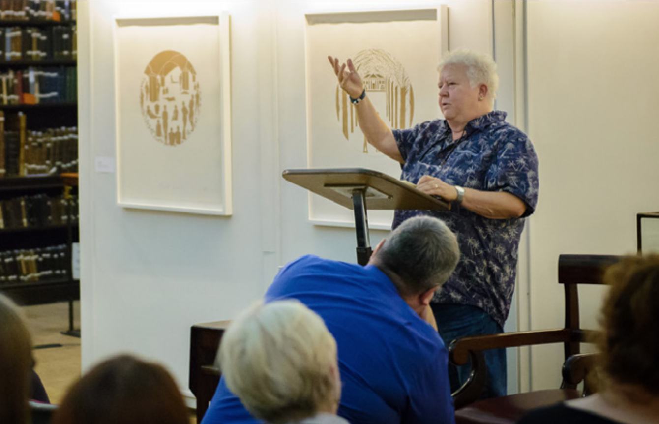 Val McDermid at The Portico Library