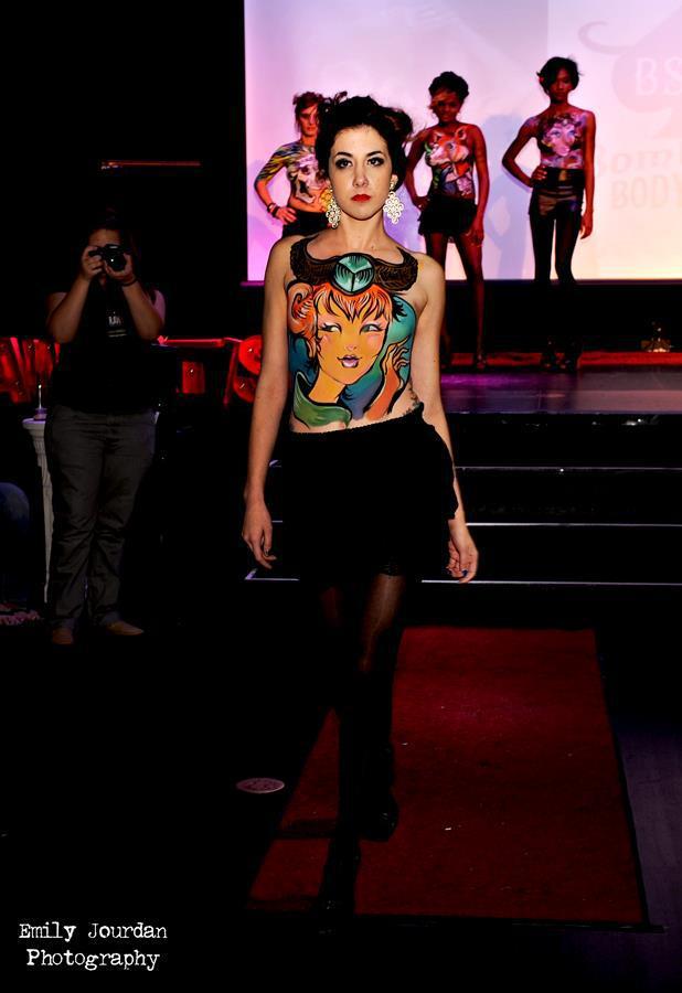 RAWards Semi Finals Showcase 2012 – Makeup Artist of the Year, Rachel Nelson, model