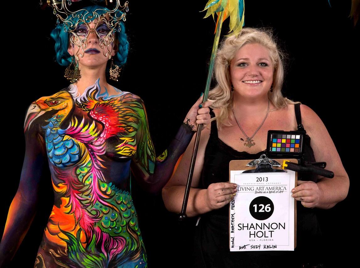 "Living Art America 2013 Atlanta – ""PHOENIX RISING"" Heather Ferguson, model"