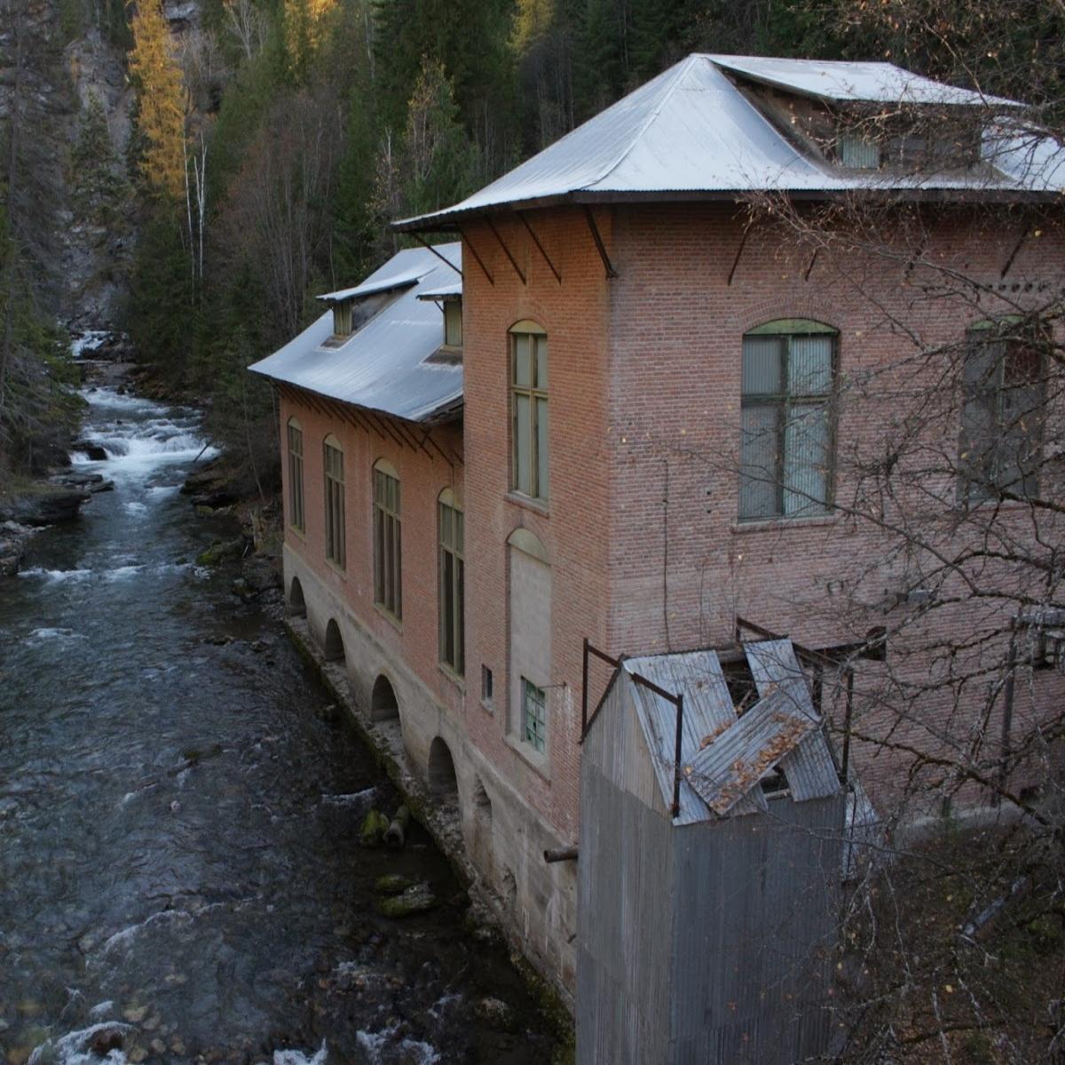 Historical Powerhouse in Metaline Falls  Sale: $75,000