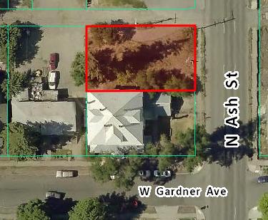 Land Sale near Downtown Spokane  Sale: $21,800