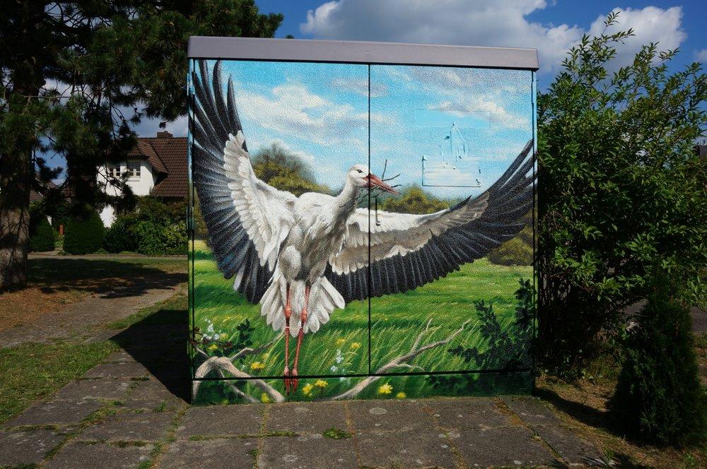 dekorációs falfestés vertigo murals falfestmény tűzfalfestmény