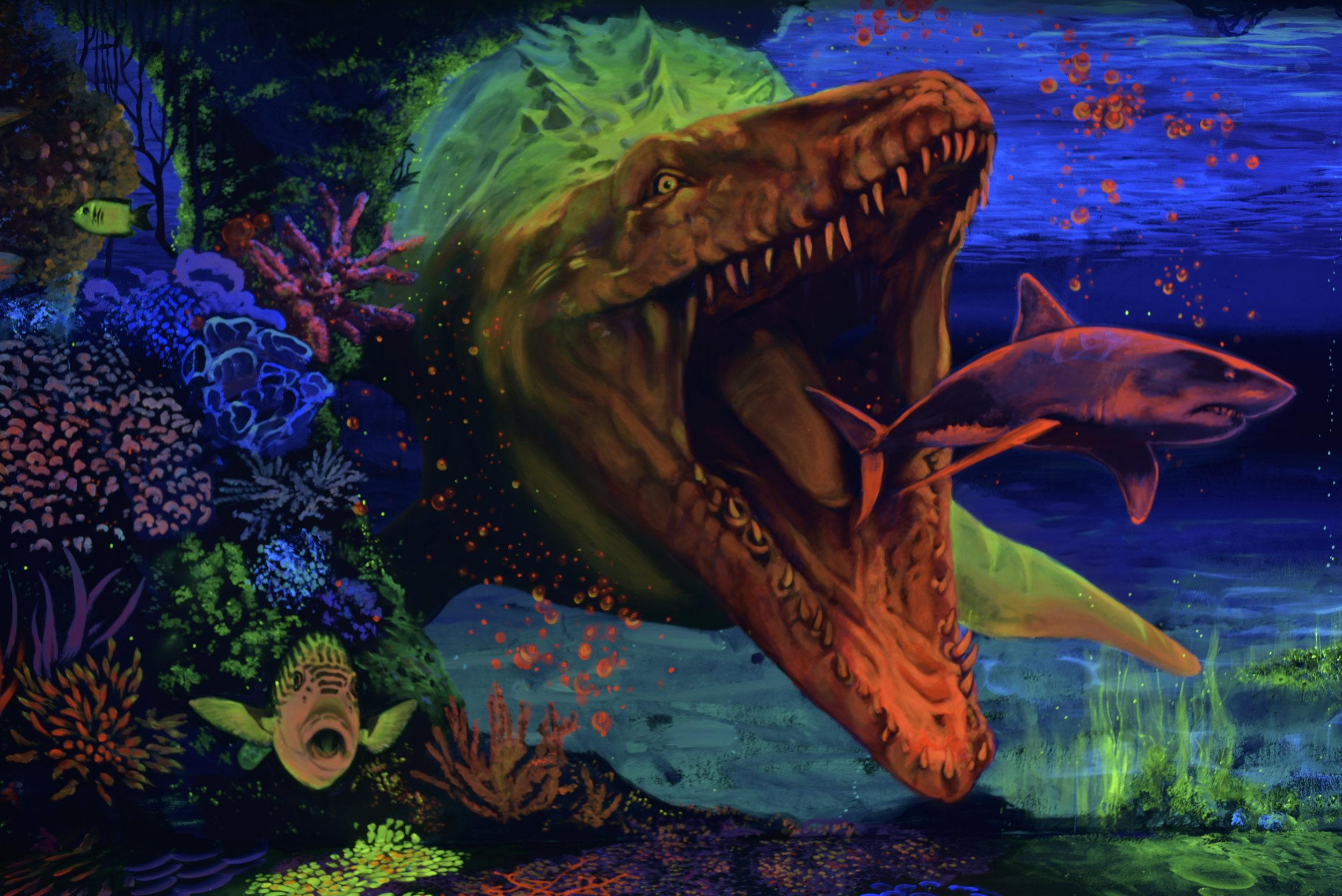 3D UV minigolf festés vertigomurals dekorációs festés falfestmények falfestmény beltéri dekor faldekor falfestészet dekorációs festés