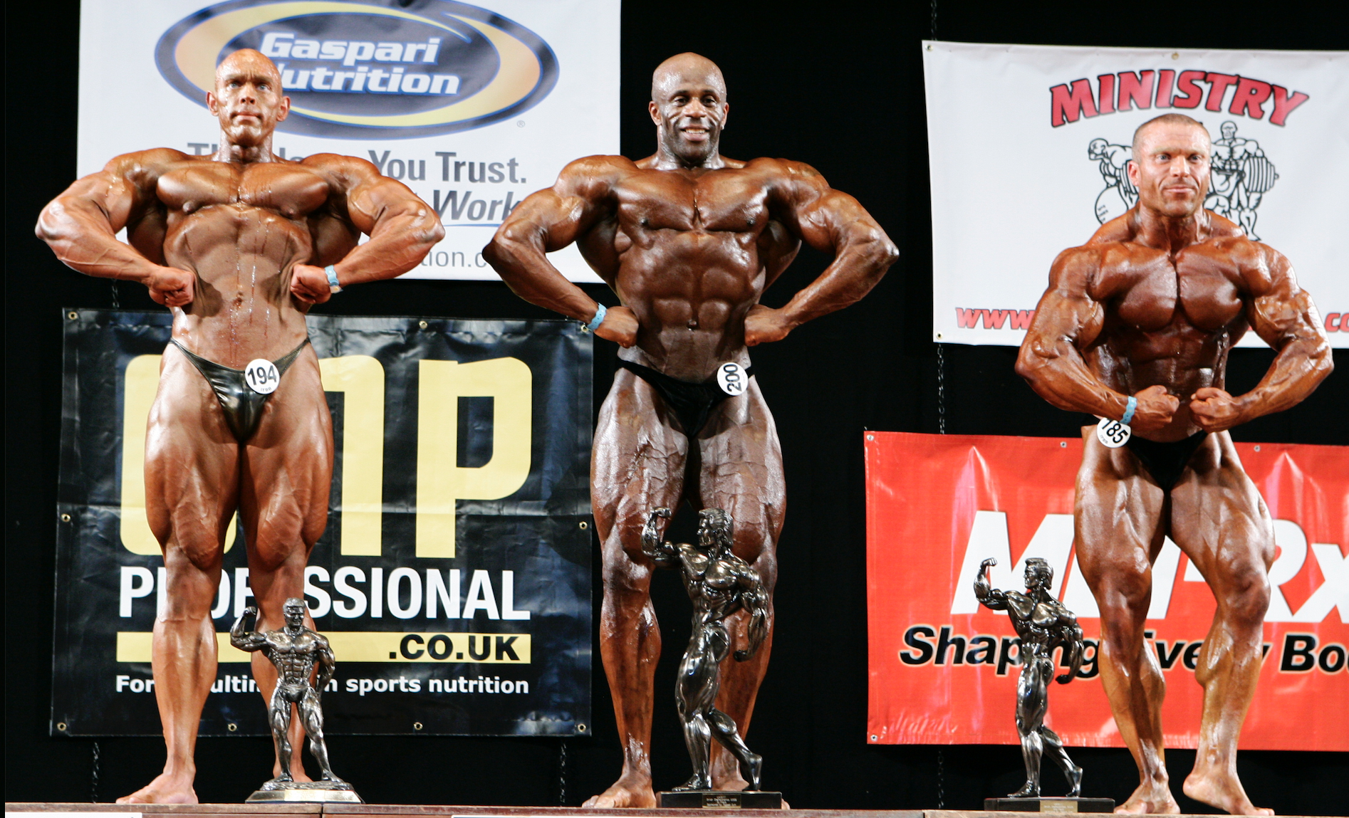 UKBFF British heavyweight top 3 in 2009.