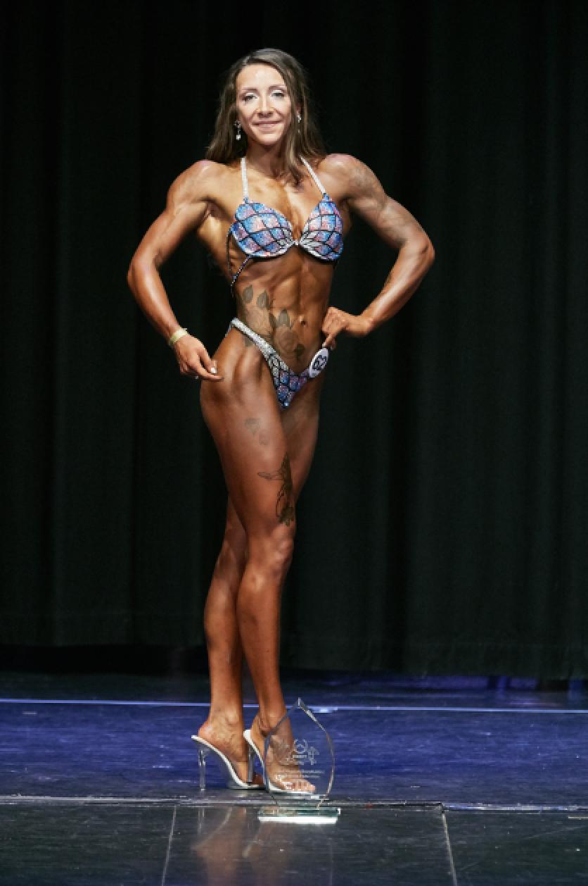 Bodyfitness champion Amy Hale. PHOTO: by Christopher Bailey