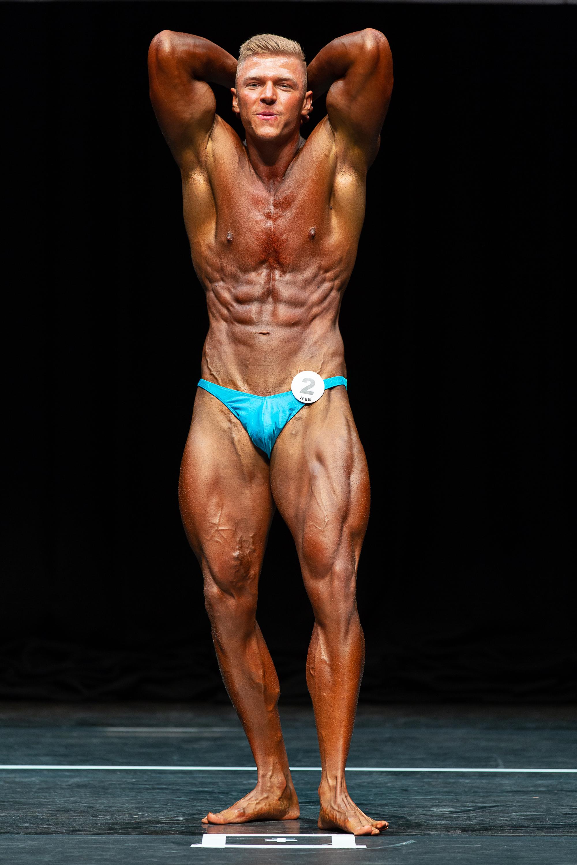 Junior bodybuilding champion Michal Ohradka