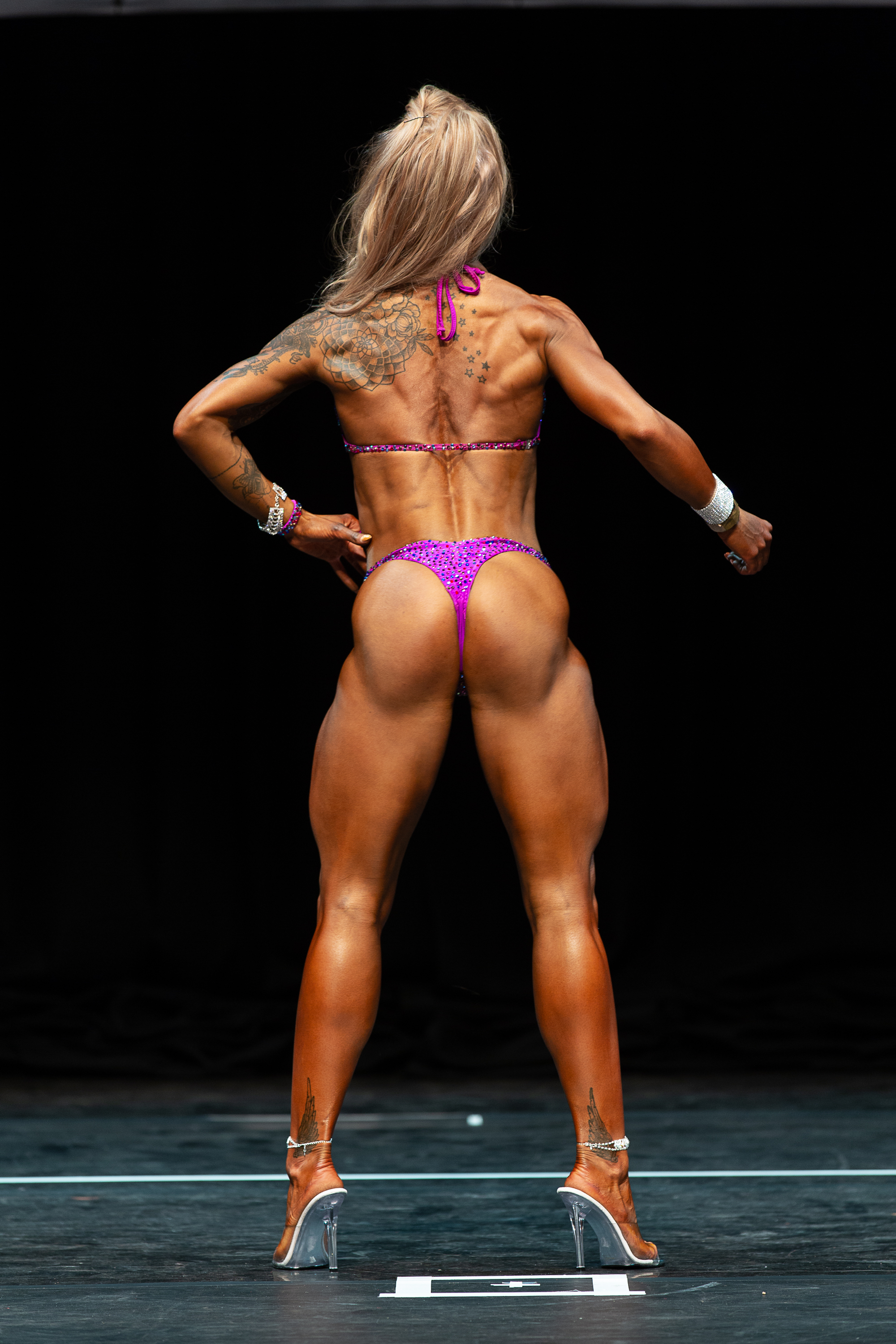 Wellness competitor Angelika Prejna will be competing in only her second event. PHOTO: Kevin Horton