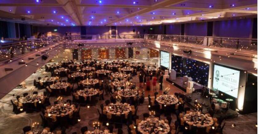 Inside the Hilton Metropole in Brighton, which will host the UKBFF South Coast Championships