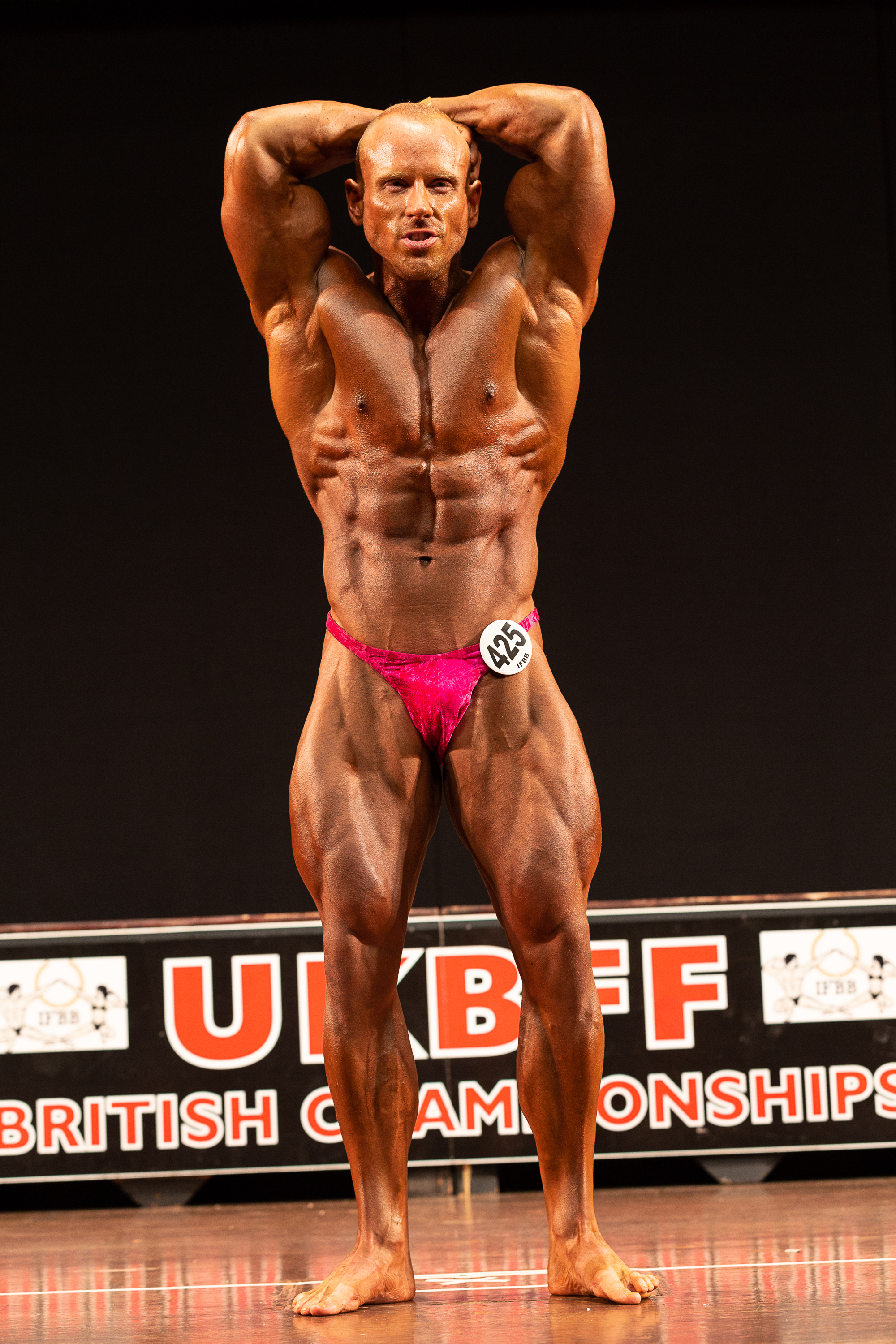 David displays his trademark completeness and conditioning at last year's British Championships. PHOTO: Kevin Horton