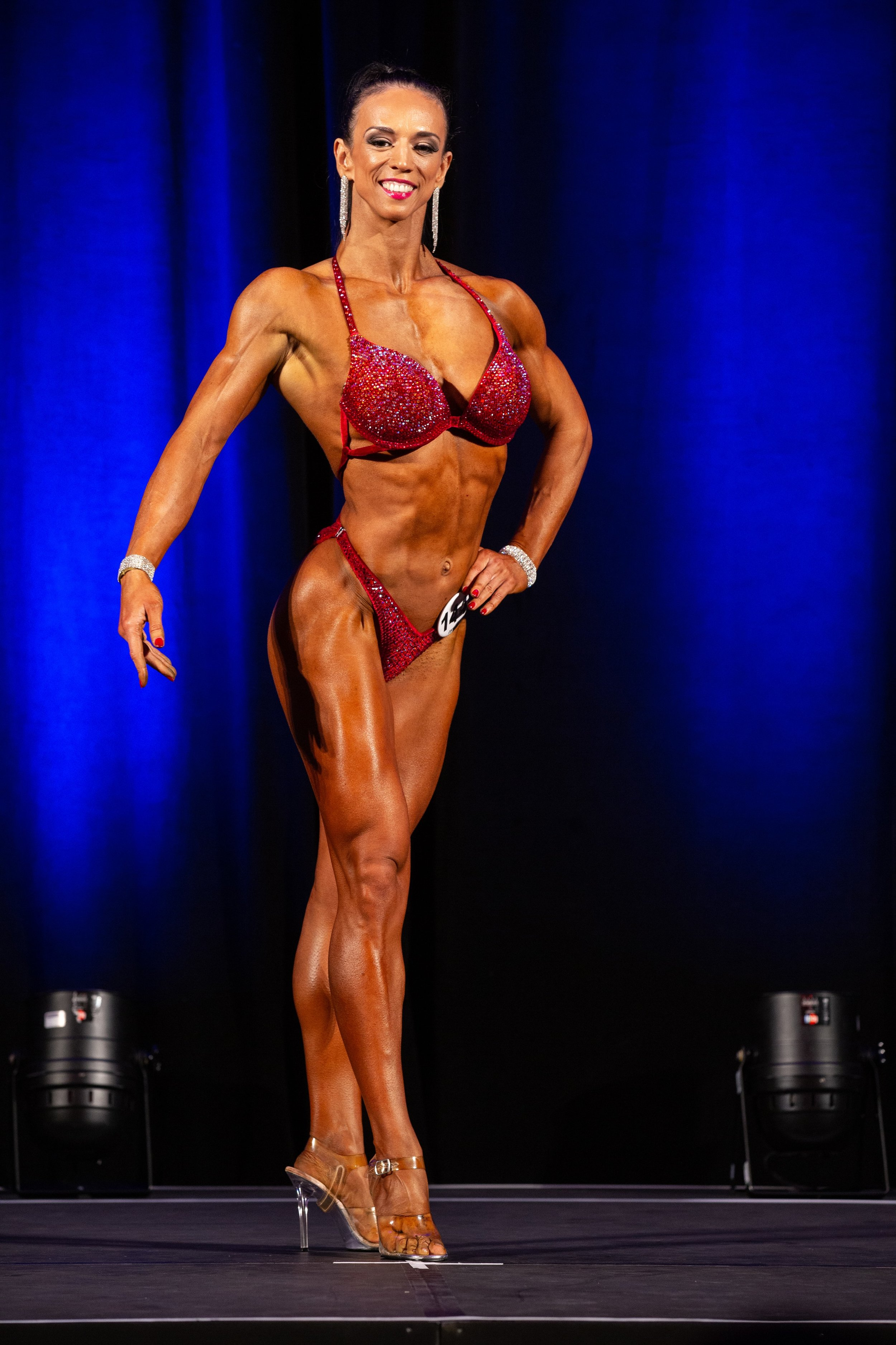 Olga Upelniece won another two first place trophies,.