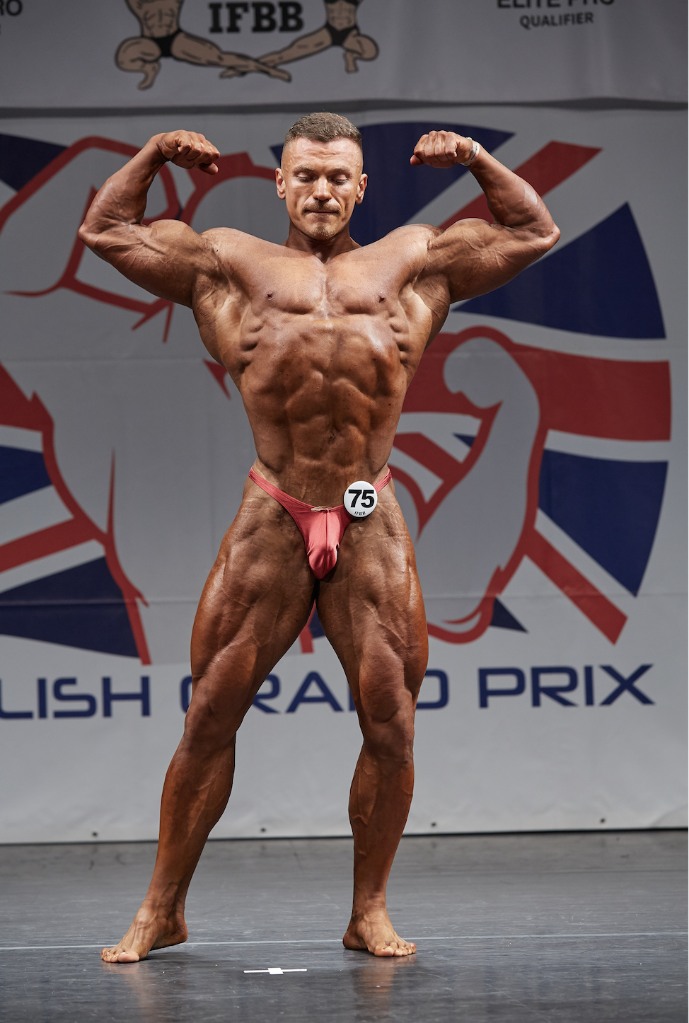 Besjan Osmani, over 100kg bodybuilding winner.