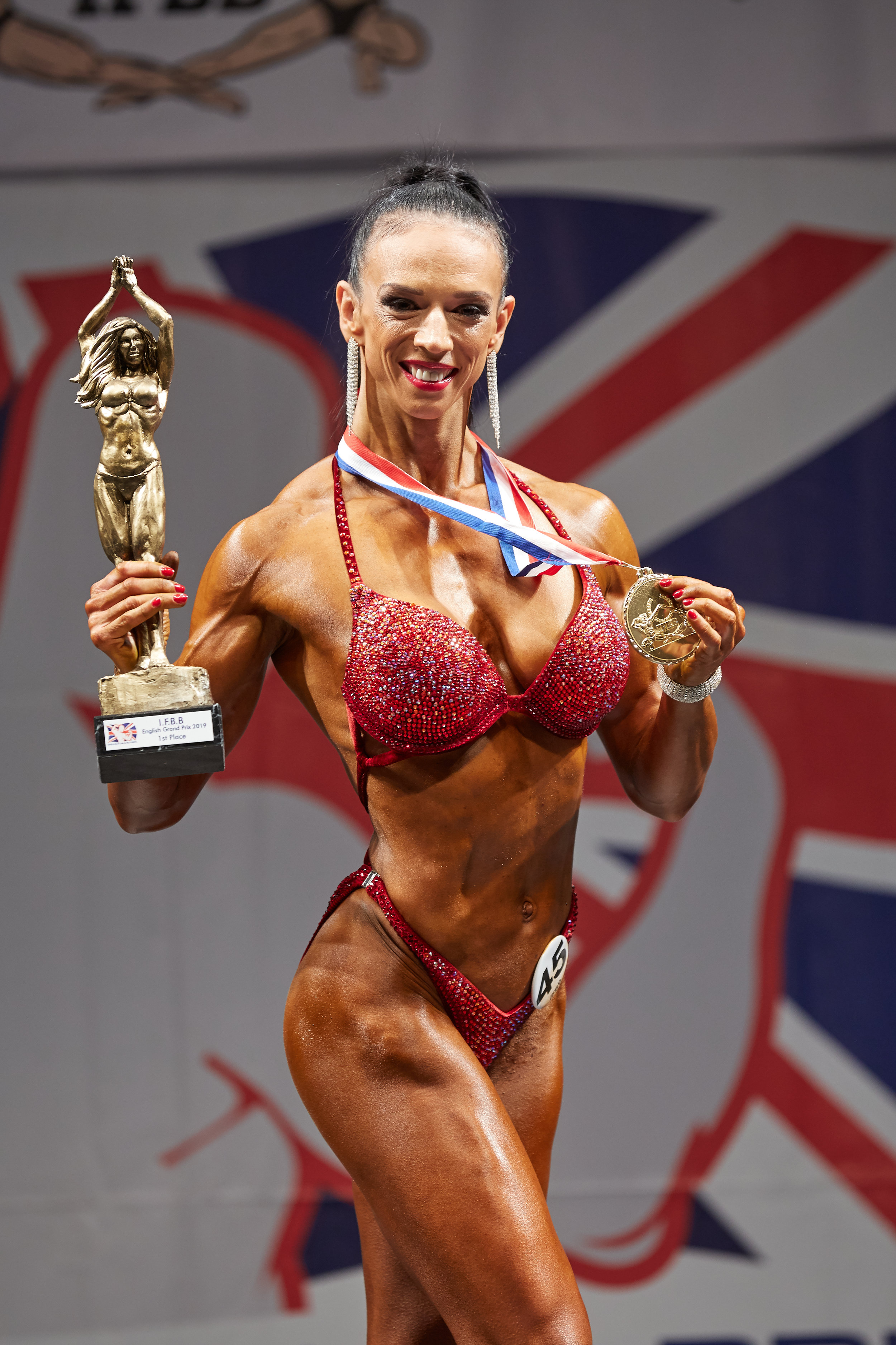 Olga has been on fire this year, winning trophy after trophy.