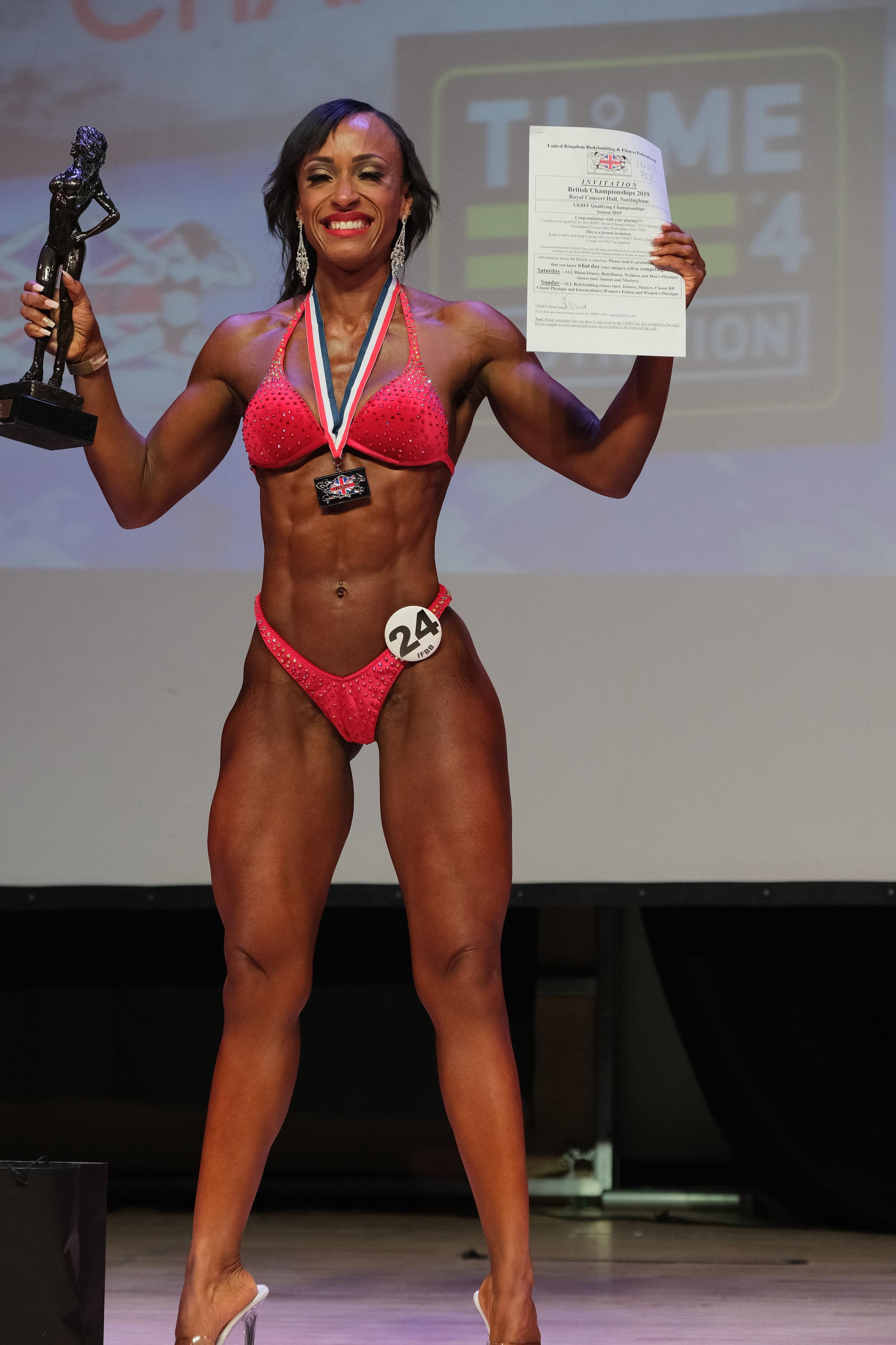 Wellness winner Stella Eduvie.