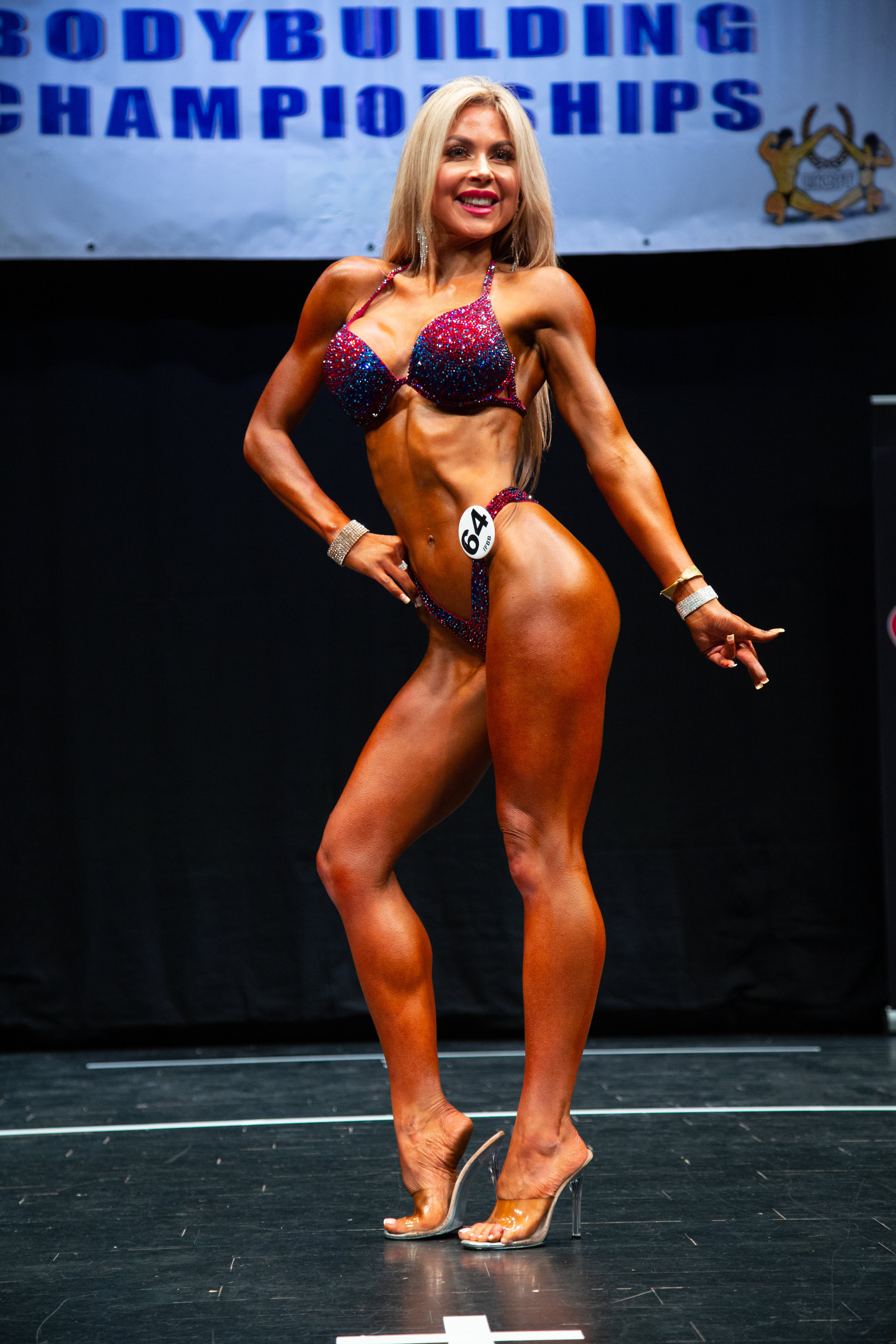 Lisa-Marie Graham, seen here winning this year's UK Nationals. Image by Kevin Horton.