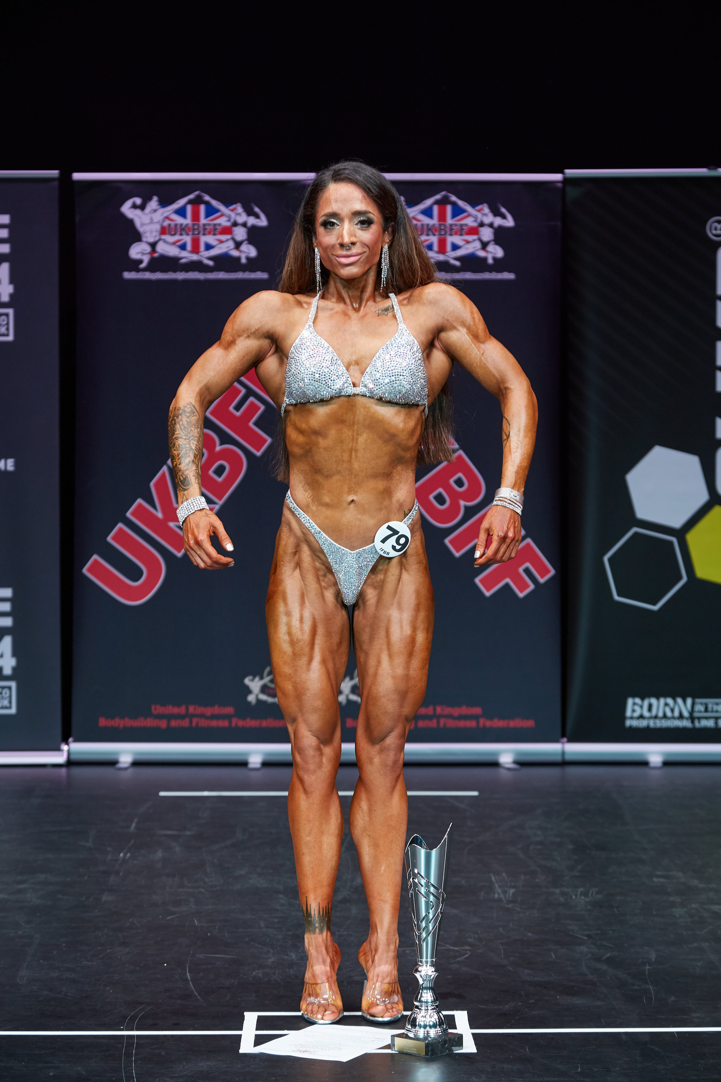 Bodyfitness champion Sasha Zadeh.