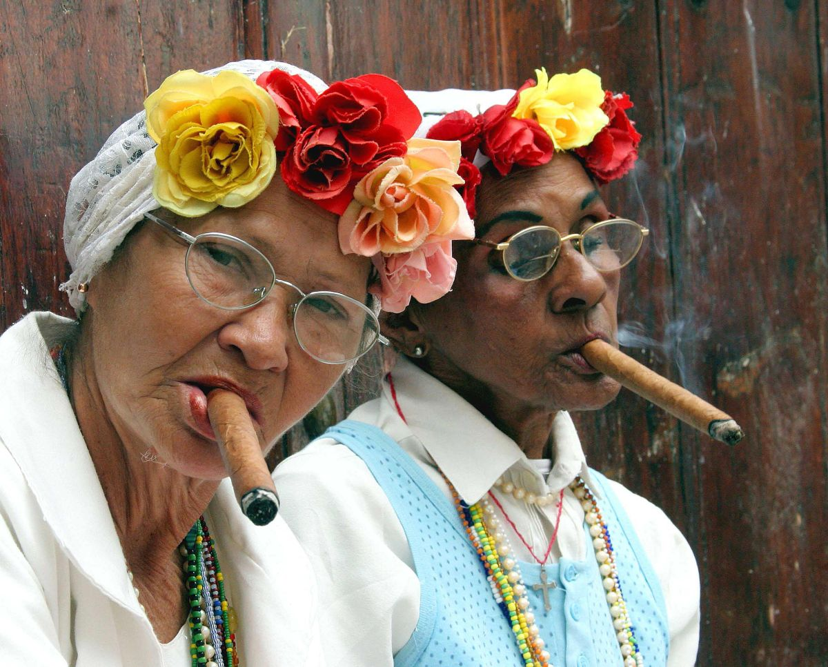 Colorful Charachters abound in Havana