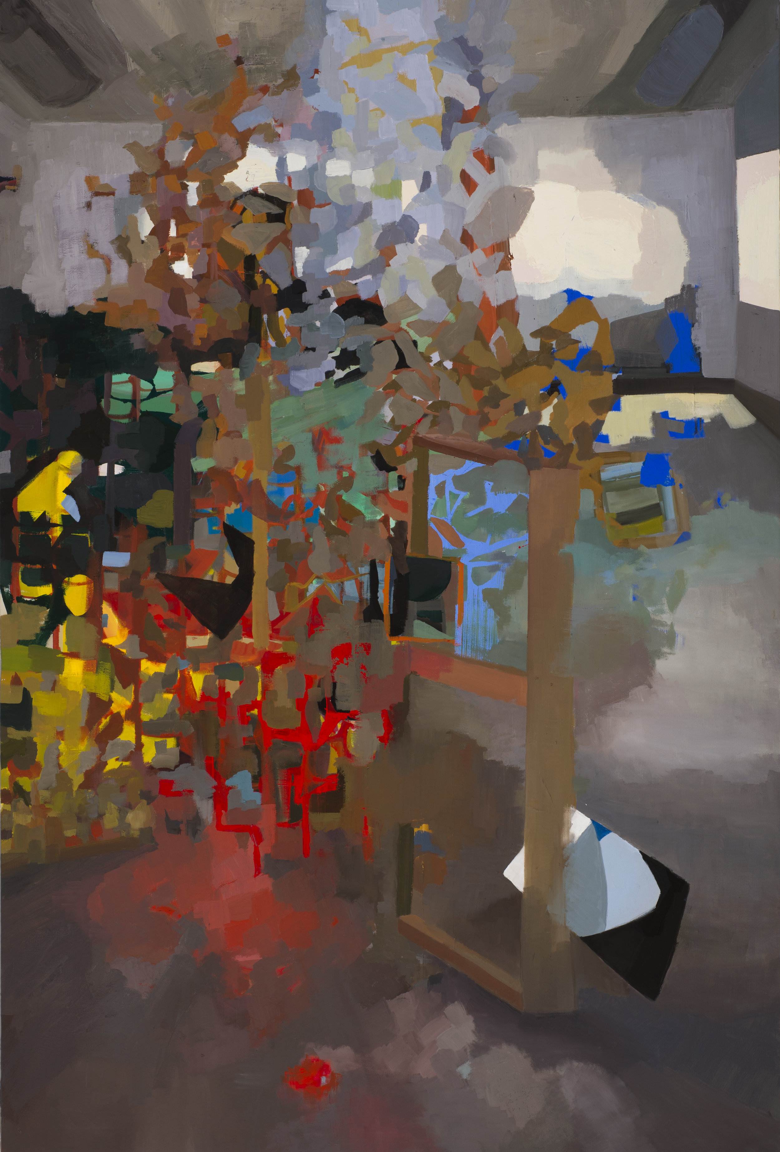 student work, david andree, catherine hapke, perception into abstraction, 2017, oil on canvas, 48x72in.jpg