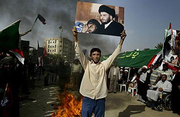 al-sadr throws down the gauntlet on us-iraq talks - Time Magazine, November 14, 2008