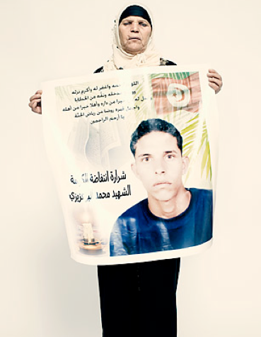 Mohammad Bouazizi's unexpected sequel: a tunisian soap opera - Time Magazine, December 14, 2011, plus The Martyr's Mother: An Interview with Mannoubia Bouazizi
