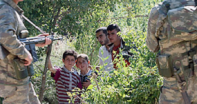 desperately fleeing syria: refugees cross into Turkey - Time Magazine, June 10, 2011
