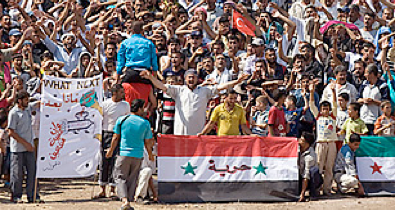 syrian refugees: itching for a fight with assad and his regime - Time Magazine, October 25, 2011