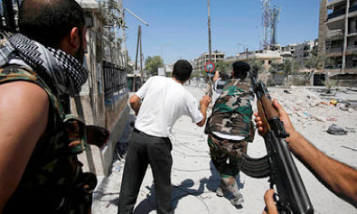the making of a syrian rebel: the saga of abboud barri - Time Magazine, September 4, 2012