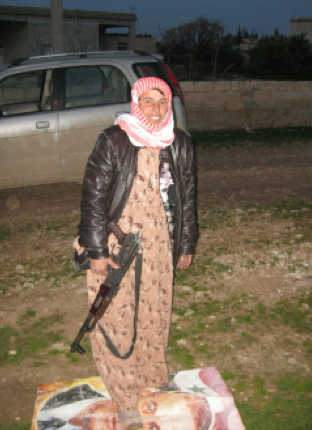 portrait of a lady: a female syrian rebel speaks to time - Time Magazine, February 27, 2013
