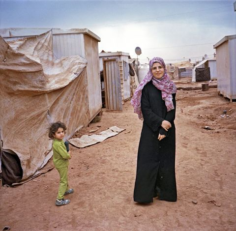living in limbo: the women of jordan's zaatari refugee camp - Marie Claire, February 18, 2014