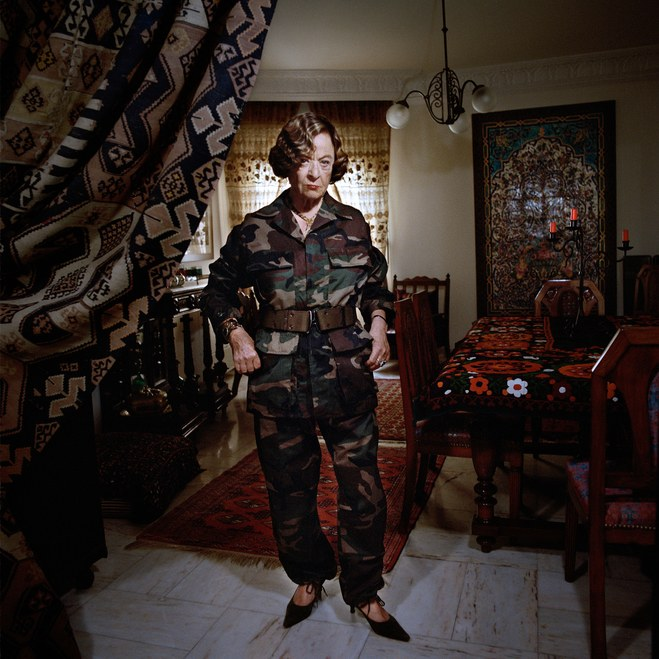 violence camouflaged: portraits of lebanese women - The New Yorker, May 7, 2015
