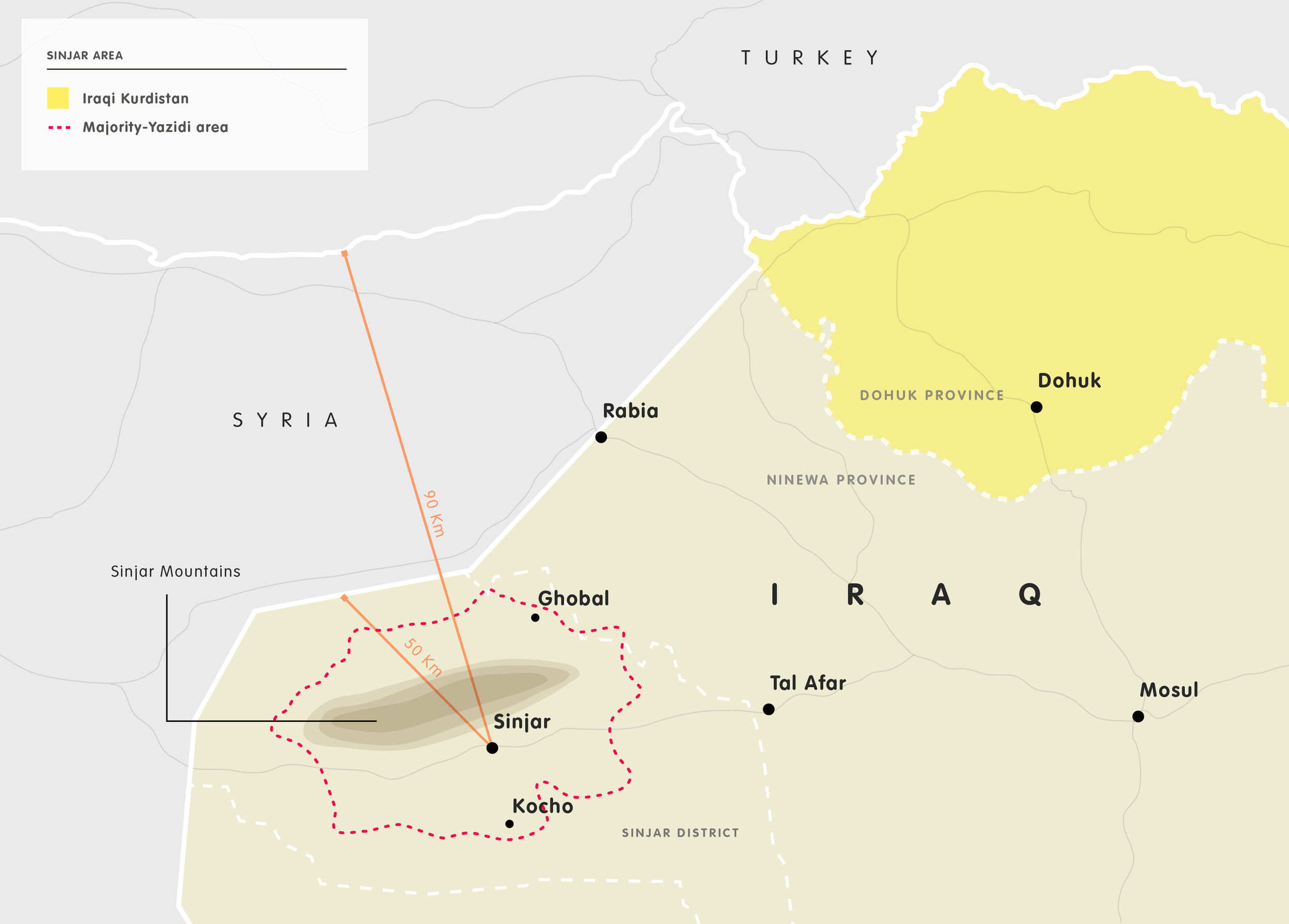 when the weapons fall silent: reconciliation in sinjar after isis - European Council on Foreign Relations, October 2018