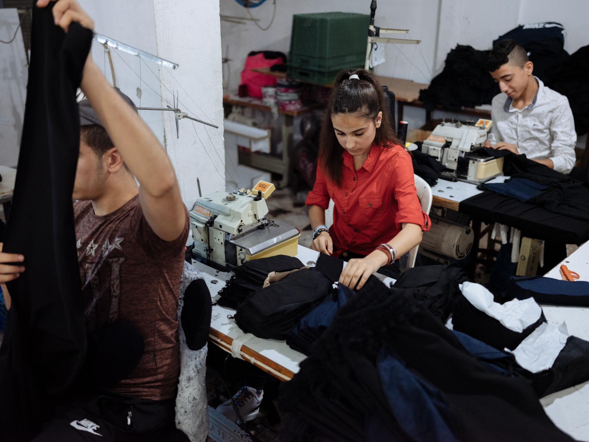 after fleeing syria, young refugees become the youngest laborers - National Geographic Magazine, June 20, 2019