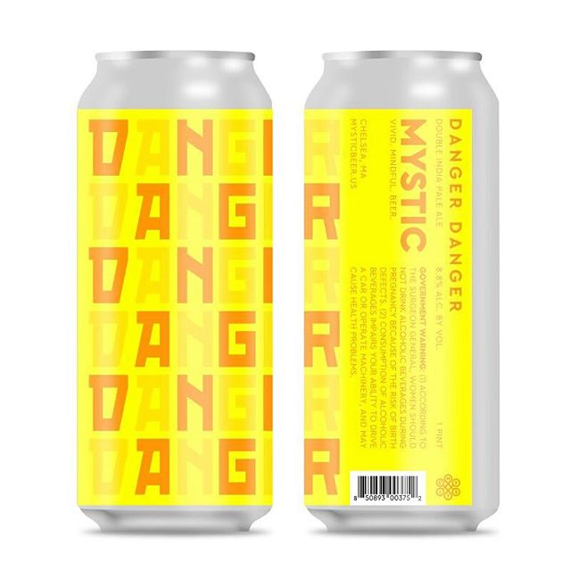 After a bit of a hiatus, Danger Danger is back! With a few tweaks here and there, Danger has come back in a big way. Using a medley of Citra, Mosaic, Simcoe, Ekuanot, and Ella, creates a juicy, hazy IPA. Packed with tropical fruit flavors, perfectly complemented by a pillowy and fluffy body. Available Friday. 8.8% abv. $20 per 4pk. . . . #mysticbrewery #vividbeer #canrelease #bostonbeer #beerstagram #craft #exploreboston #localcraftbeer #hazyipa #newenglandipa #danger #juicebomb #boston #chelsea