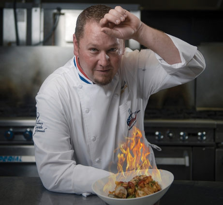 Yeah, we interviewed this guy. Awesome right? (Chef Gaerry)