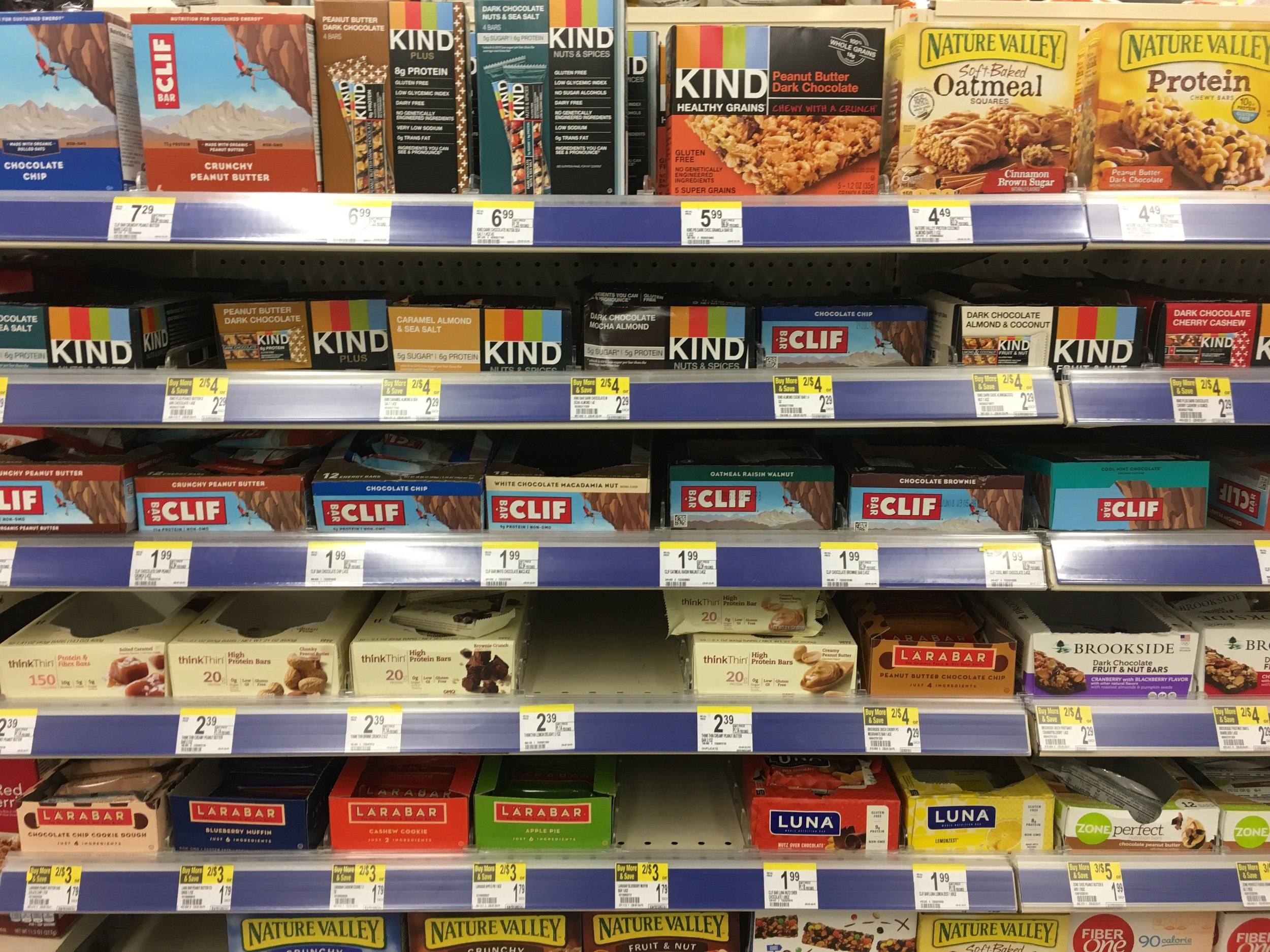 So many bars to choose from