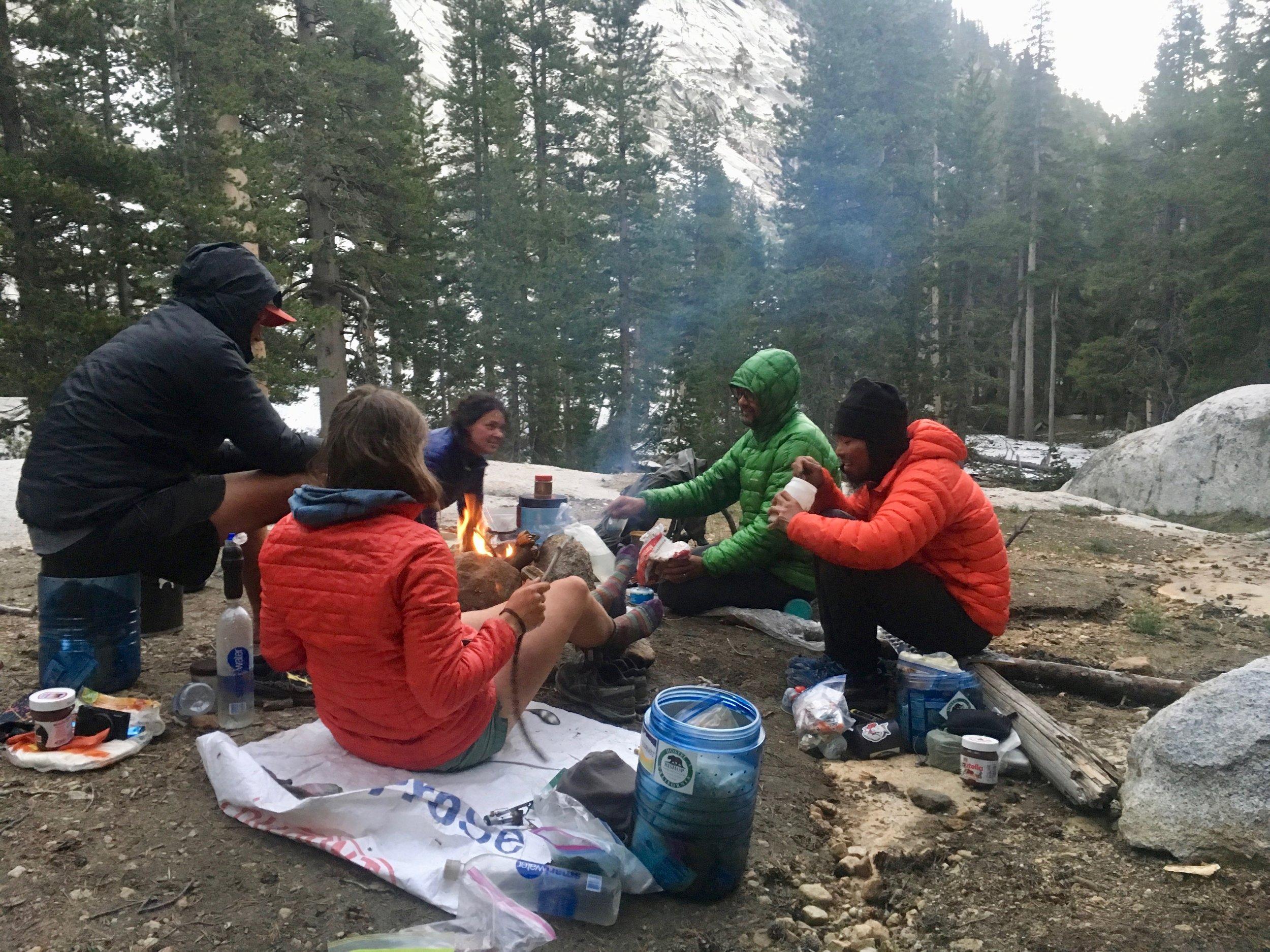 Dinnertime in the Sierra