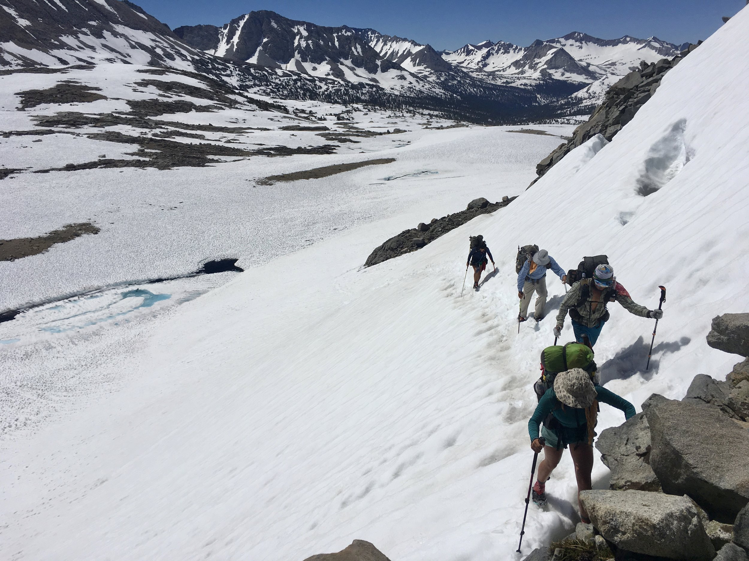 Slow and steady in the Sierra Nevadas
