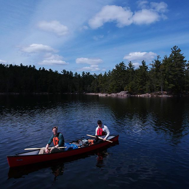 My best friend and I went on a canoe trip to Kawartha Highlands in Ontario at the end of April. I have been so busy that I just now took a look at the photos! It was my first multi-day canoe trip and it was pretty epic. We were the first people In the park for the season and it had some of the best camping I have ever seen. Near freezing at night so no bugs. It also had some of the gnarliest portages I have done. 3rd of a mile up and down... over and over. Ha. All in all a great trip and now I want to buy a canoe 😀