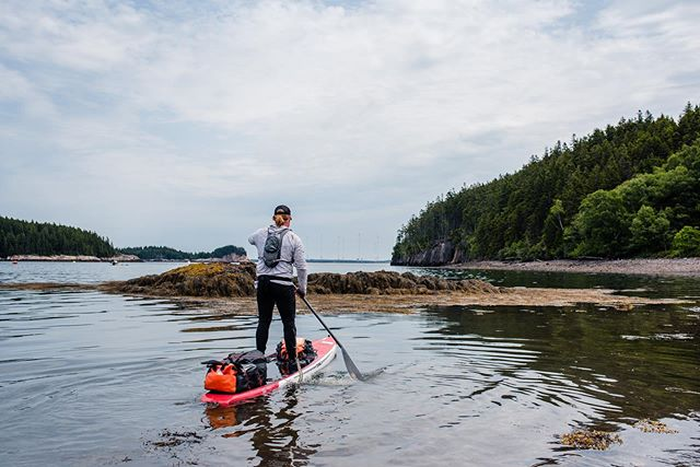 Last year I was in the thick of it paddling the coast of Maine. Glad to be finished with that bucketlist item but I miss the simplicity of just waking up paddling.